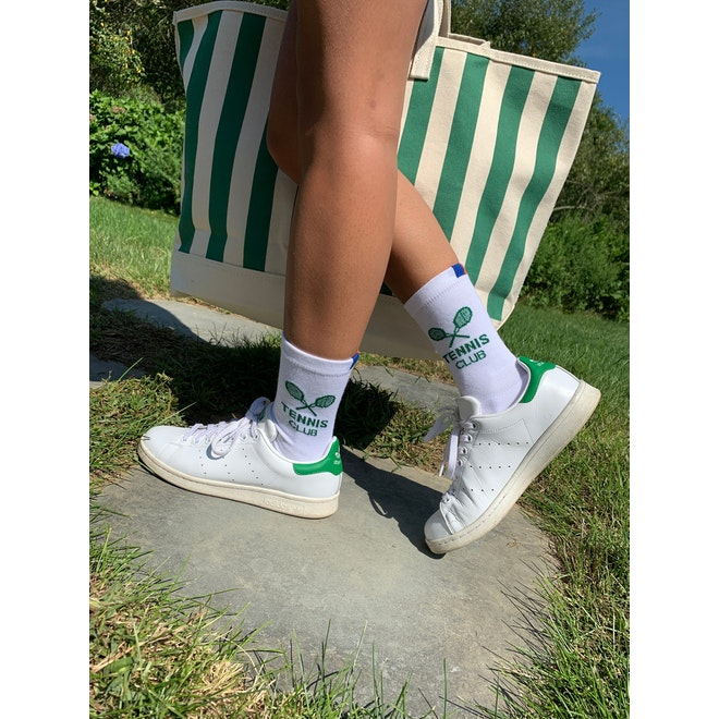 The Women's Tennis Sock - White