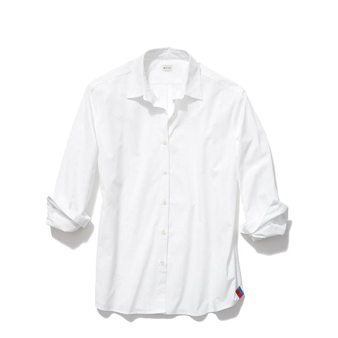 The Hutton Oversized Shirt - White