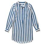 The Silk Ischia - Royal Blue/Cream