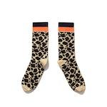 The Women's Leopard Dress Sock - Leopard