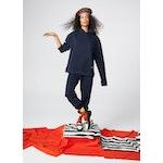 The Women's Organic Sweatpants - Navy