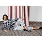 The Women's Organic Sweatpants - Heather Grey