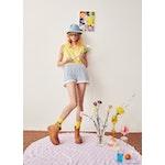 The Women's Happiness Sock - Yellow