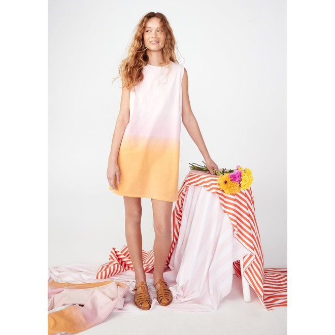 The Organic Ombre Ivy - Pink/Gold