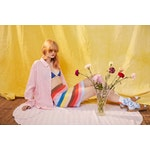 The Linen Oversized Hutton - Pink