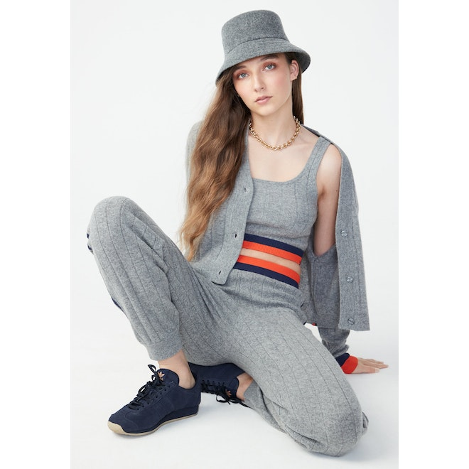 The Mabel - Heather Grey