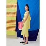 The Tank Dress - Yellow/White
