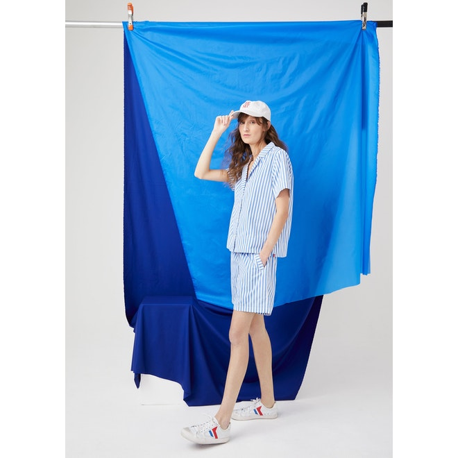 The Henry Lounge Set - White/Blue