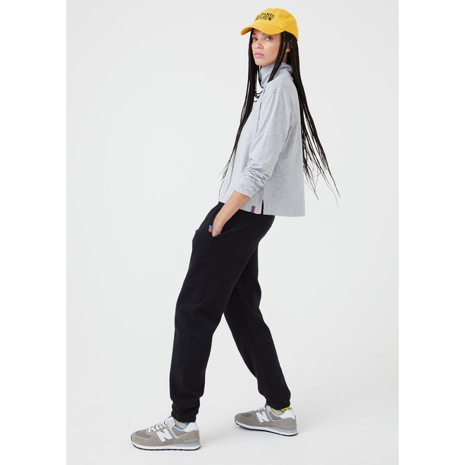 The Women's Organic Sweatpants - Black