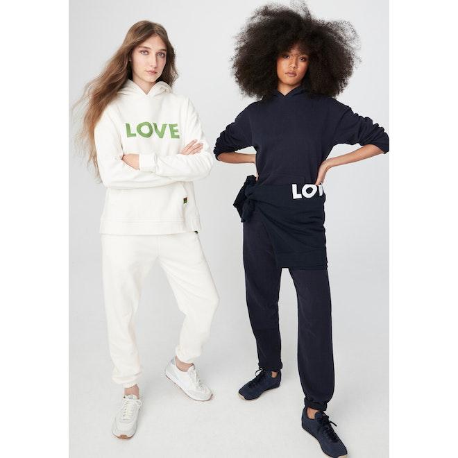 The Women's Organic Sweatpants - Cream