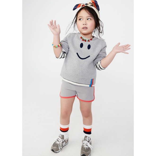The Kid's Raleigh Smile - Heather Grey/Navy