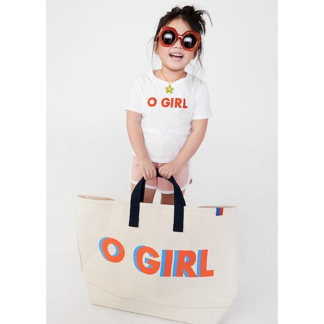 The Charley O GIRL - White