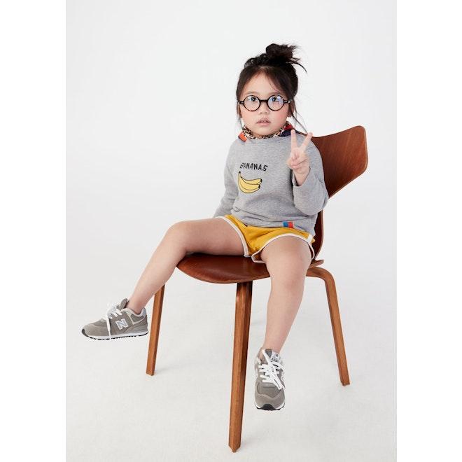The Kid's Raleigh Bananas - Heather Grey