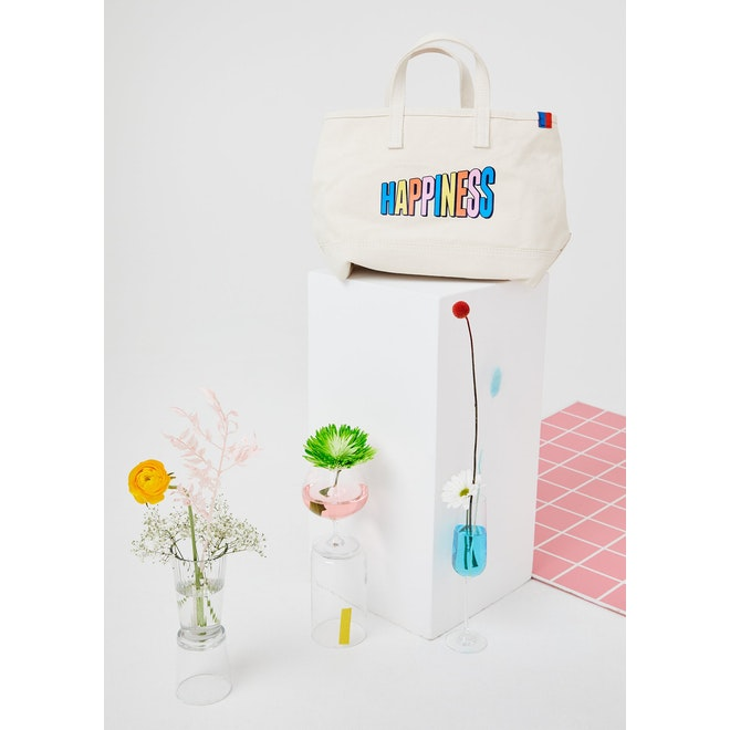 The Happiness Medium Tote - Canvas