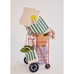 The All Over Striped Bucket - Canvas/Green
