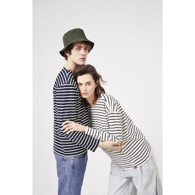 The Boyfriend - Cream/Navy