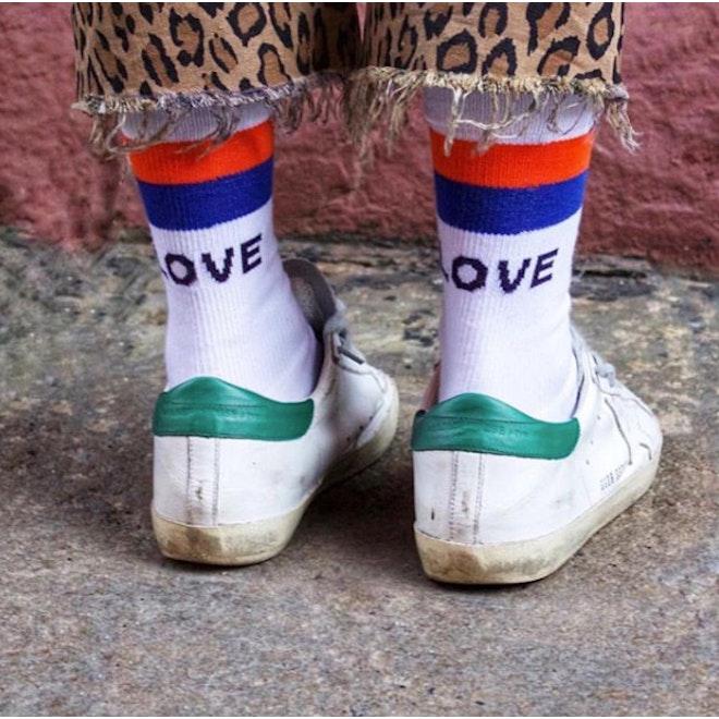 The Women's LOVE Sock - White