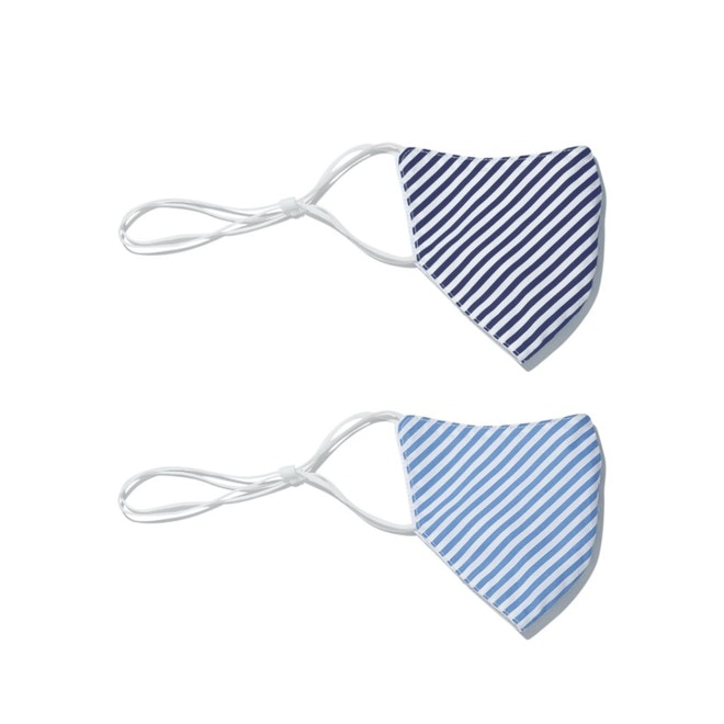 Non-Medical Mask - Sky & Navy (2-Pack)